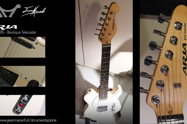Telecaster boutique made in Japan by Aria per Jean Merech