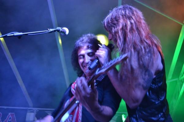 Jean Merech live con i Manara Gang al centro sportivo di Caravaggio