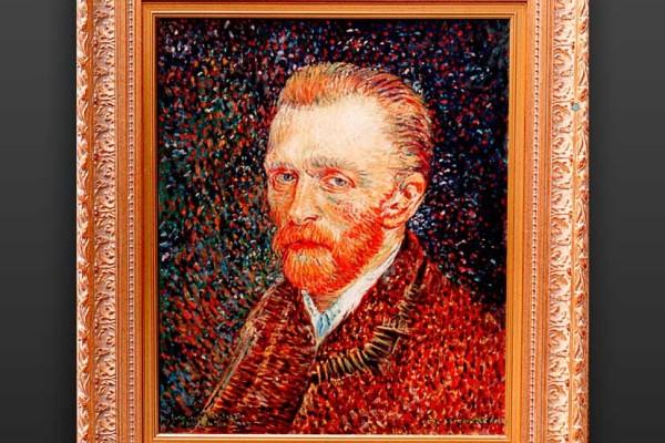 Finto d'autore di Van Gogh dipinto dal pittore Gian Antonio da Pandino